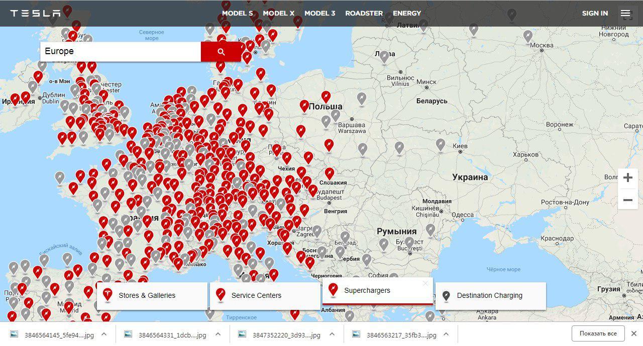СИЛА ТОКА: Илон Маск пообещал в 2019 году открыть в Киеве сеть фирменных станций быстрой зарядки Tesla