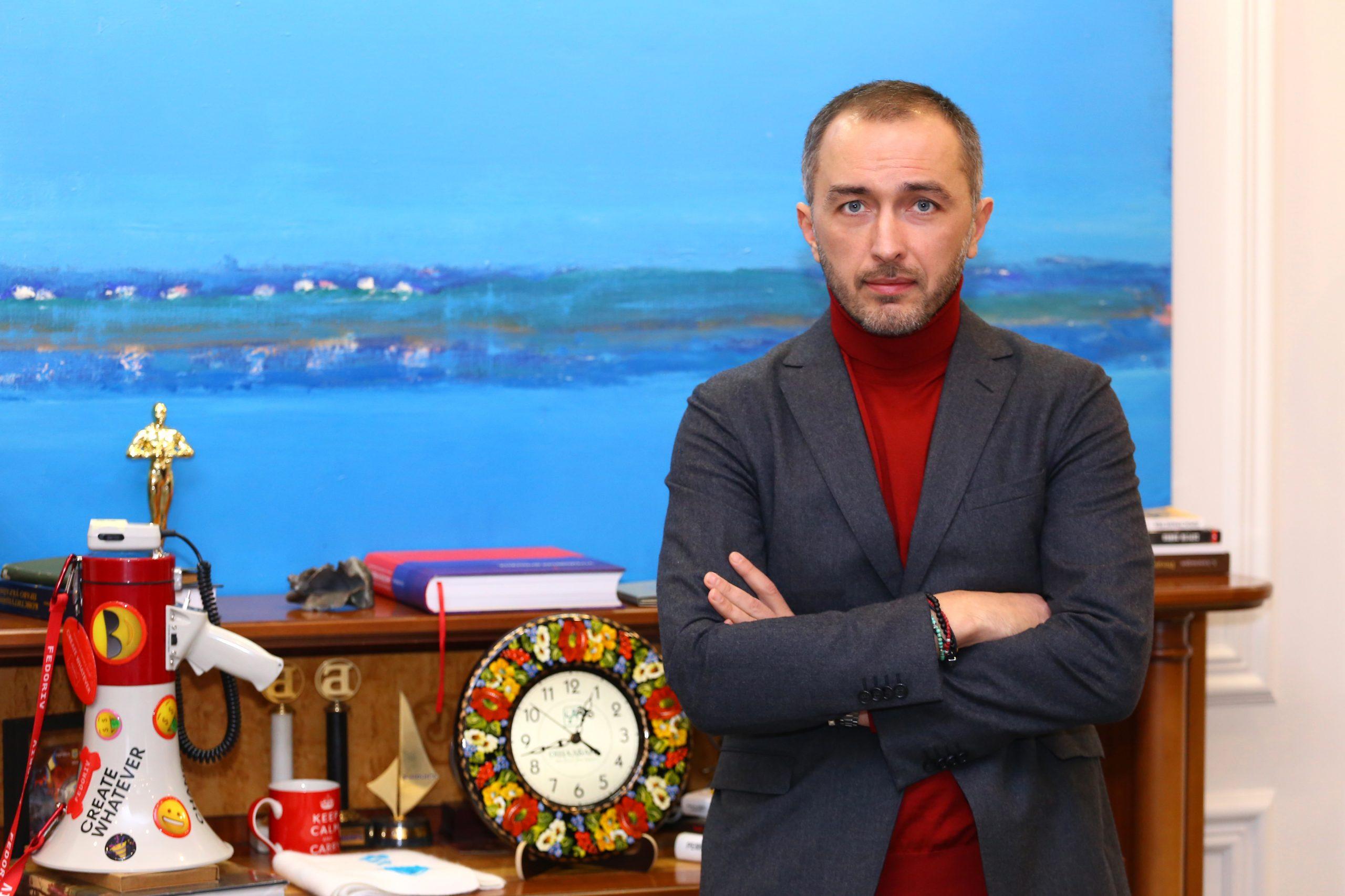 ОТКРЫЛ СЧЕТ: Андрей Пышный выучился на юриста, занимался политикой, а стал одним из лучших банкиров страны