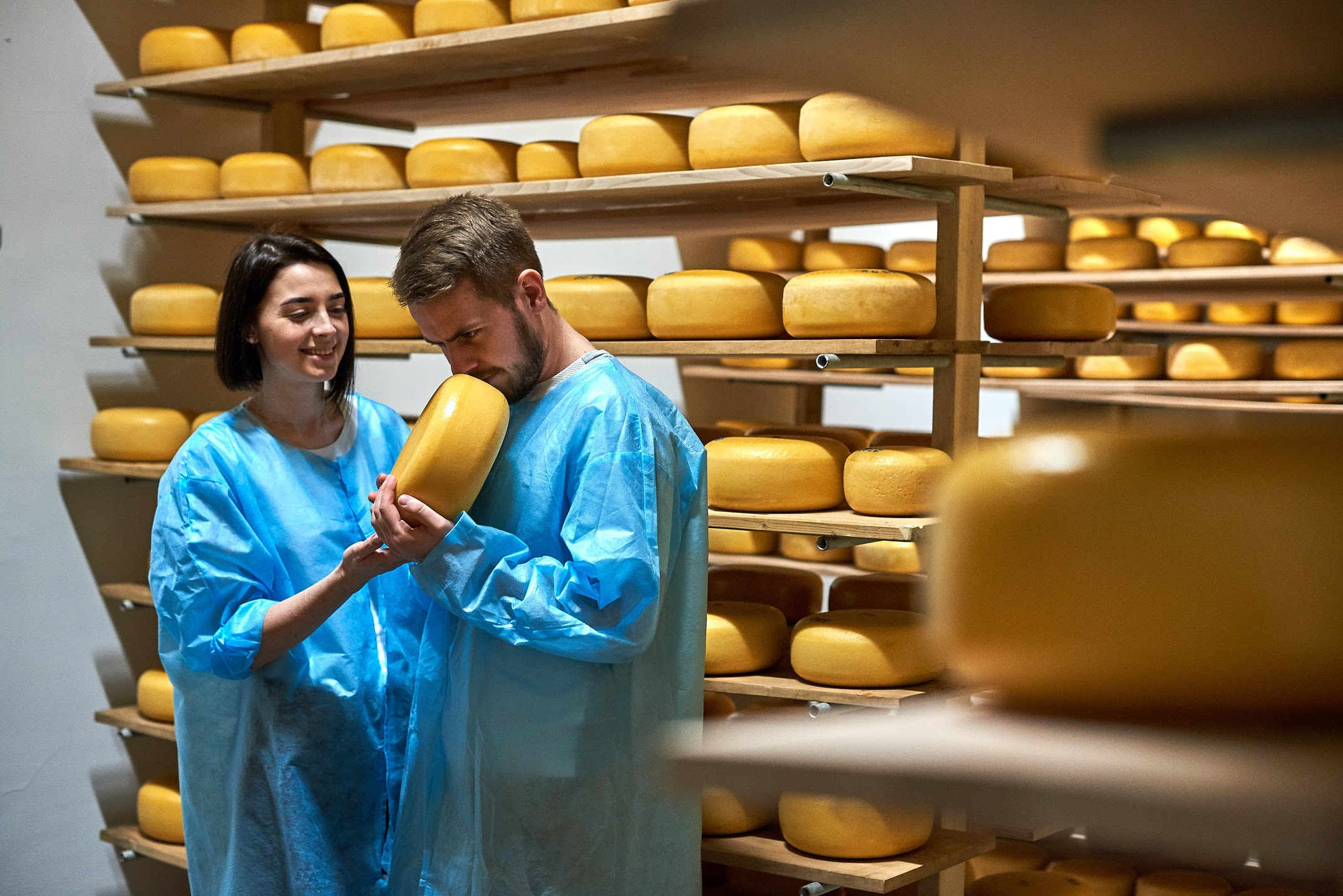Cheese pass: how a professional football player became a cheesemaker. Also professional