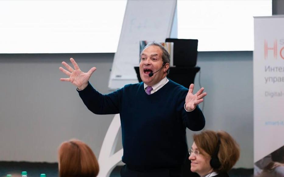 22 марта 2019 года состоялся управленческий интенсив британского спикера Найджела Риснера на тему «BOSS: идеальный или безрезультатный».