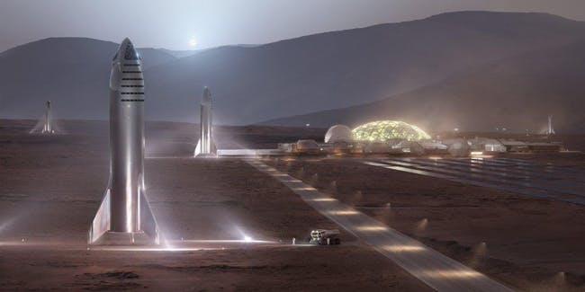 SPACEX MARS CITY от Илона Маска