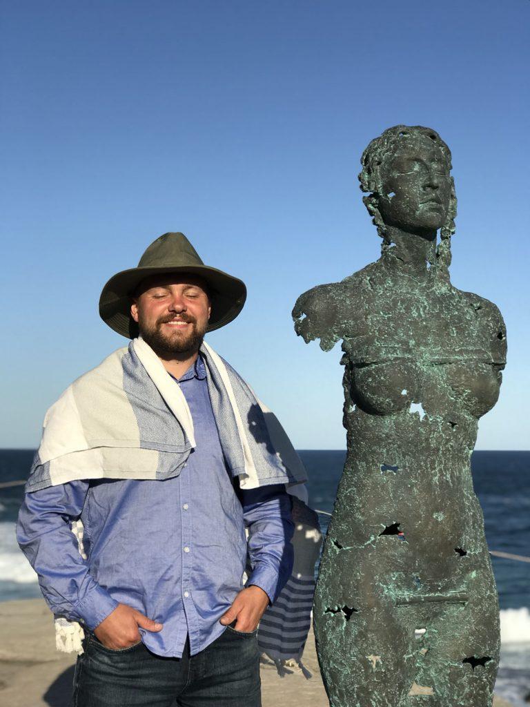 ПРОБУЖДЕНИЕ ЧЕЛОВЕКА: скульптор Егор Зигура покоряет Сидней