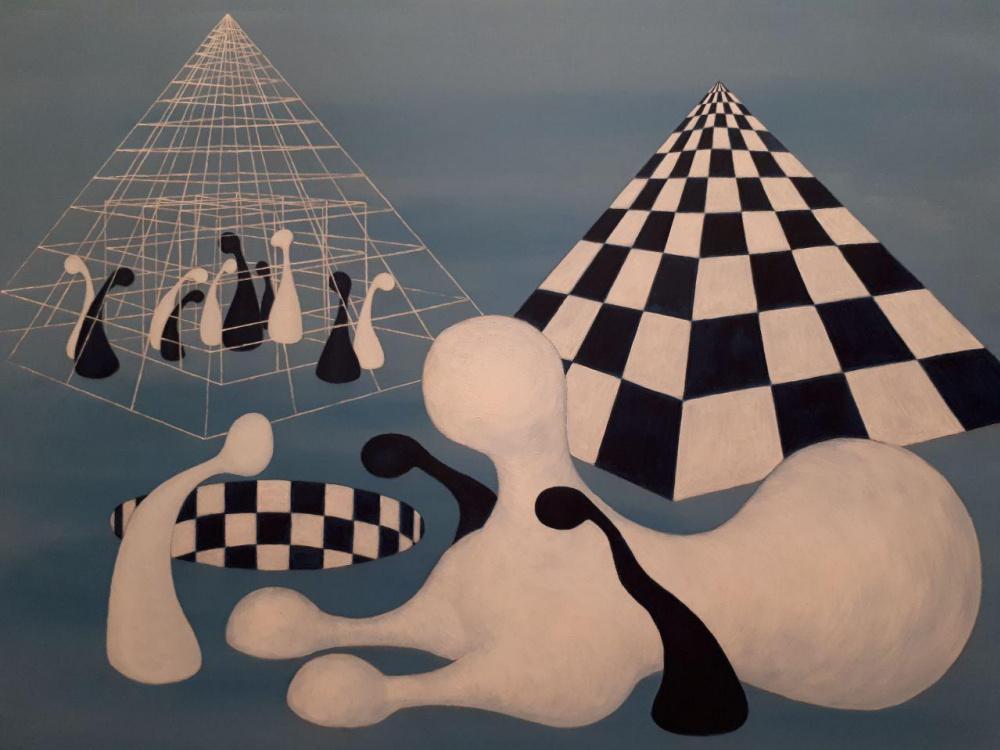 Художник Андрей Паскевич: «На новый уровень жизни выйдет человек, осознавший себя фигурой в игре масштабней, чем его индивидуальная судьба». О шахматах и людях, вышедших за пределы автоматизма, обусловленности и правил