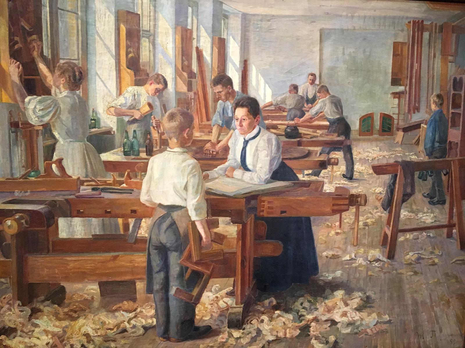 FABRICANTE FABRICARUM: Роль труда в процессе превращения