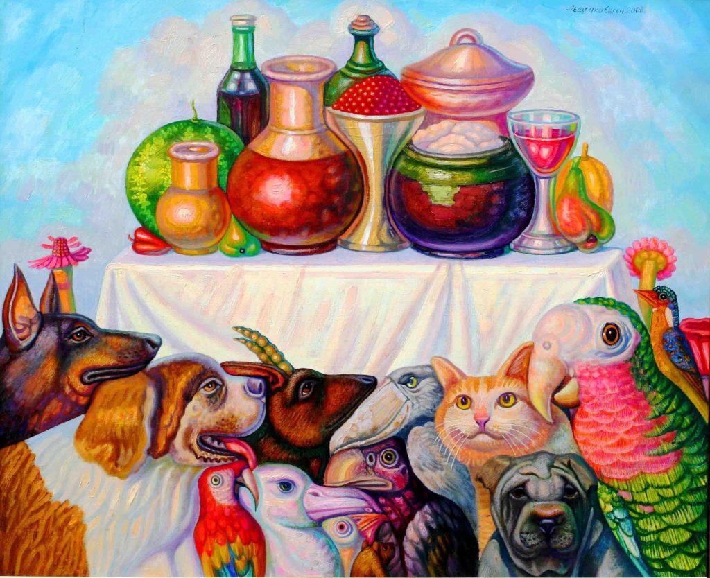 Евгений Лещенко из Днепра, основатель «Paradise art», о войне, мире и духовности