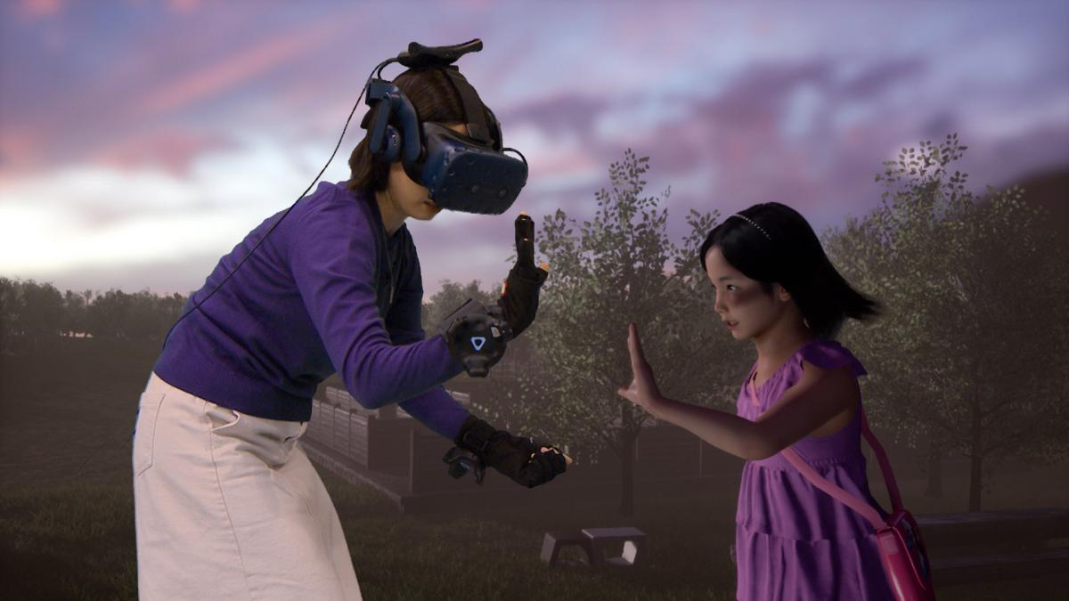 «Наверное, это и есть рай», - в Южной Корее женщина смогла встретиться с умершей дочерью при помощи VR-технологий
