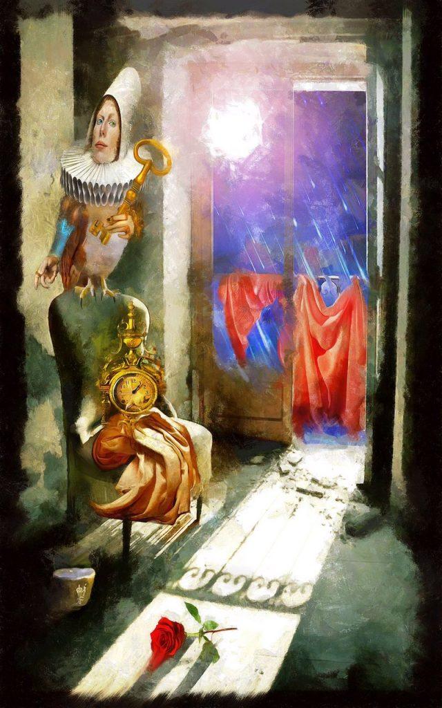 УКРАИНА-ЗАРИСОВКИ: одесский художник-мистик - Константин Скопцов о Ришелье, Утесове, Гесиоде и «пофигизме»