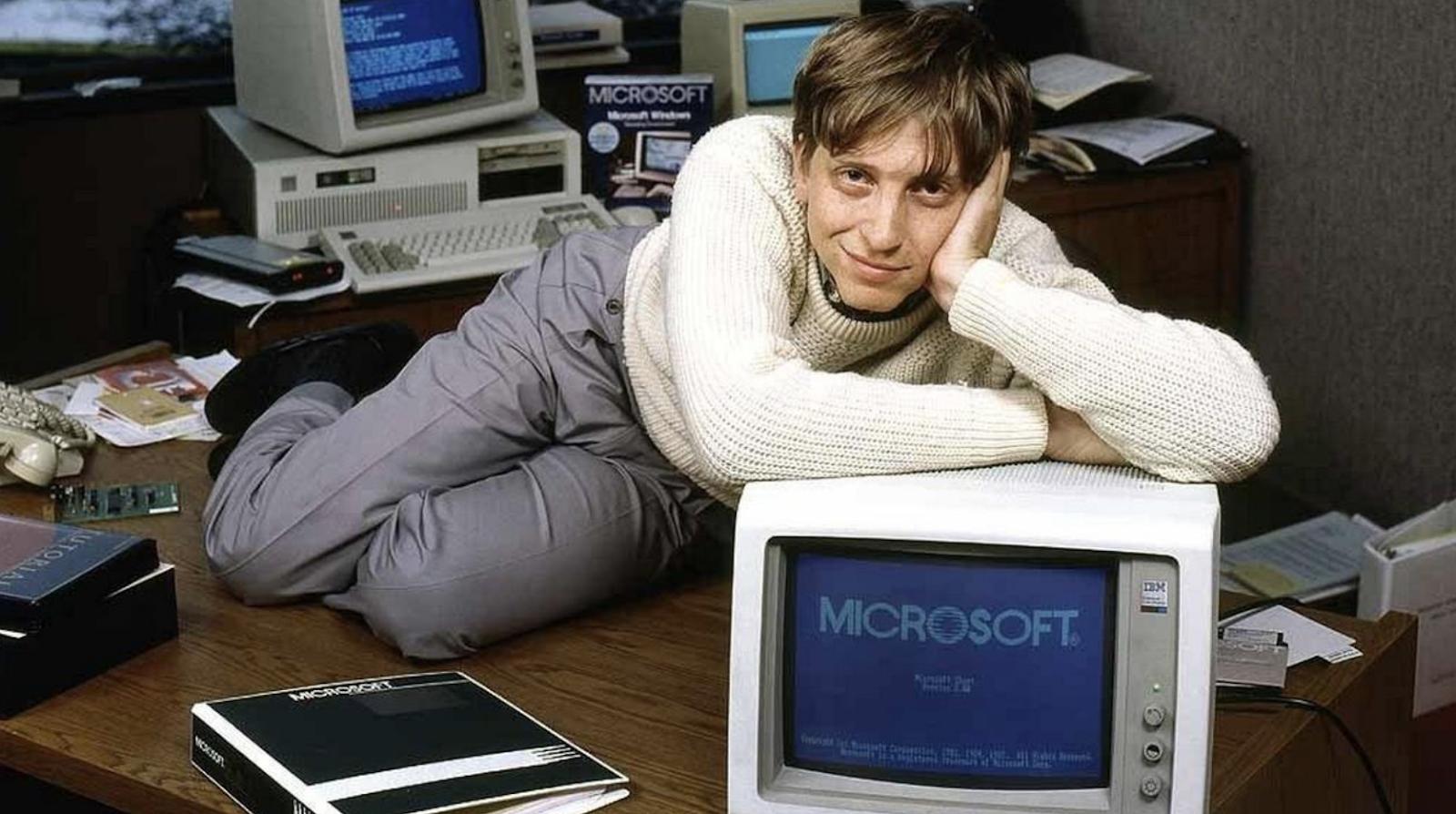 НЕТРИВИАЛЬНОЕ РЕШЕНИЕ: как Билл Гейтс оказался самым симпатичным мальчиком в классе