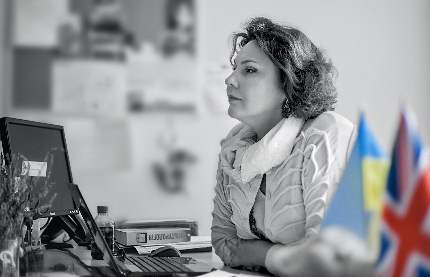 «Общество рисков: что должен делать лидер?», — рассказывает Наталья Кривда, академический директор Эдинбургской бизнес-школы в Украине