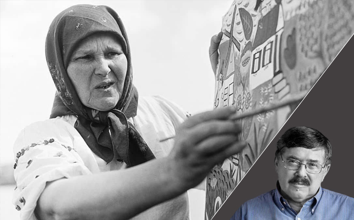 Корни и Крылья с Борисом   Бурдой: Мария Примаченко из села Болотня под Киевом — известная украинская художница, пишущая  диковинных зверей