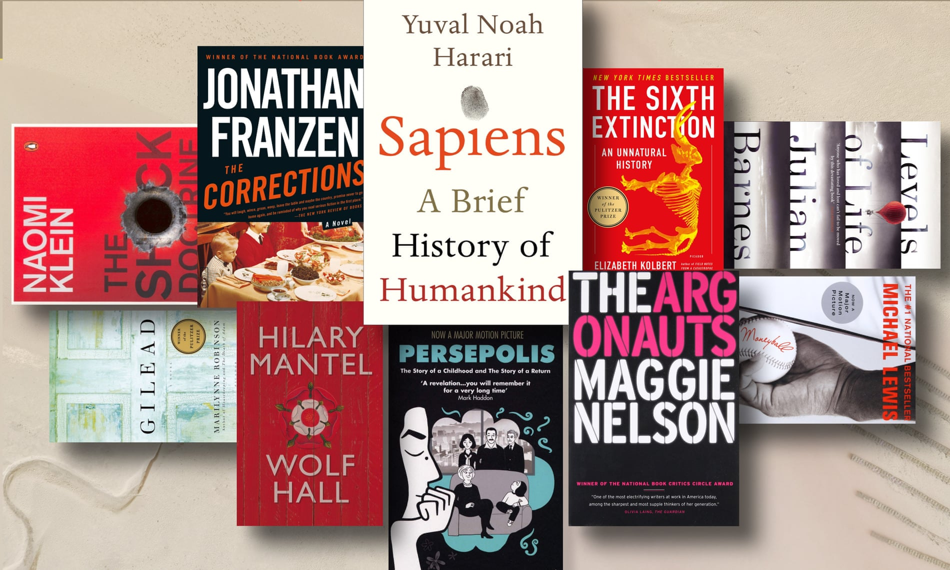 100 лучших книг 21-го века по версии «The Guardian»