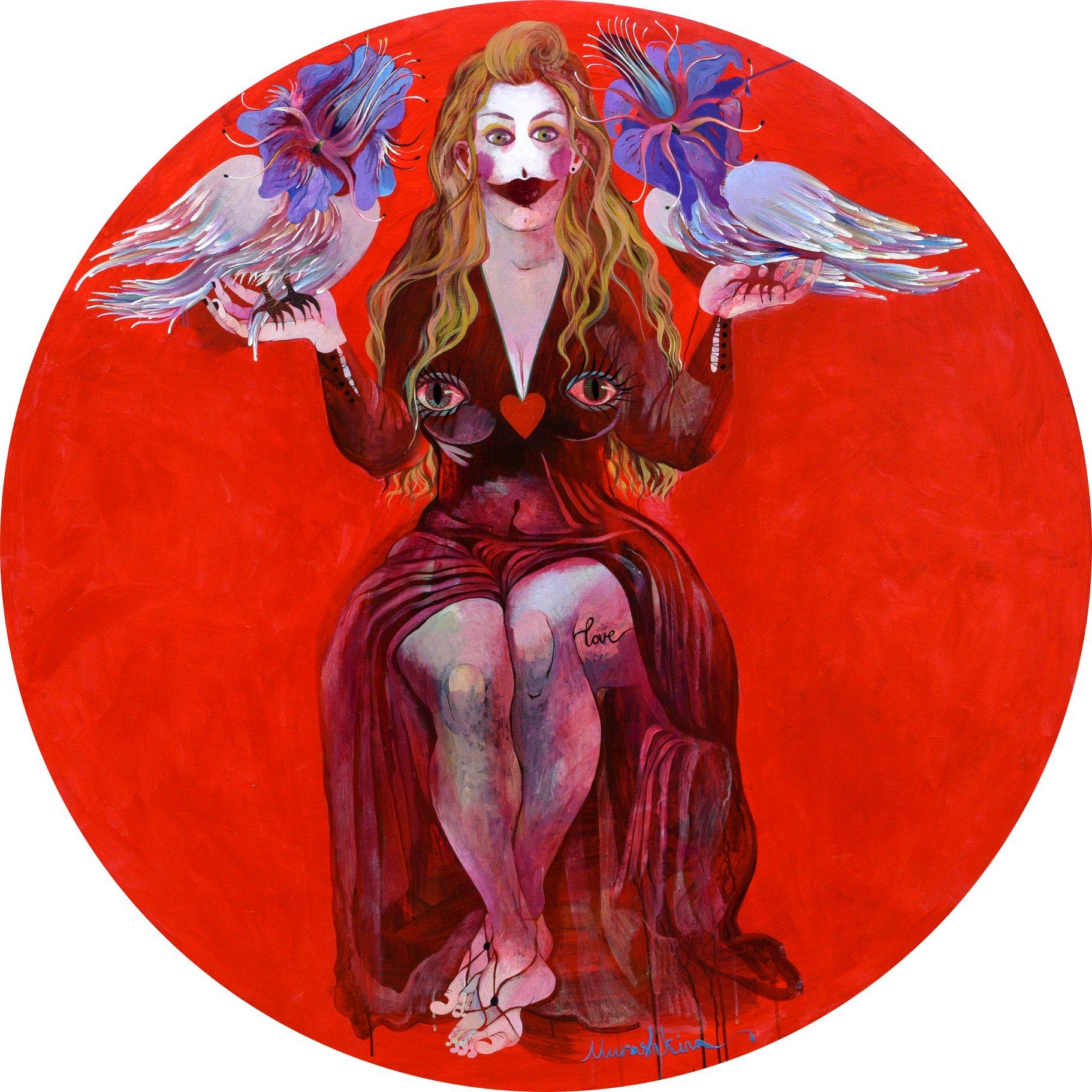 ТВОРЧЕСКОЕ ДОСЬЕ: украинская художница Нина Мурашкина — исследователь психологии сексуальности