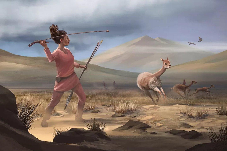 Охотница, которой 9 тысяч лет, разрушает стереотипы