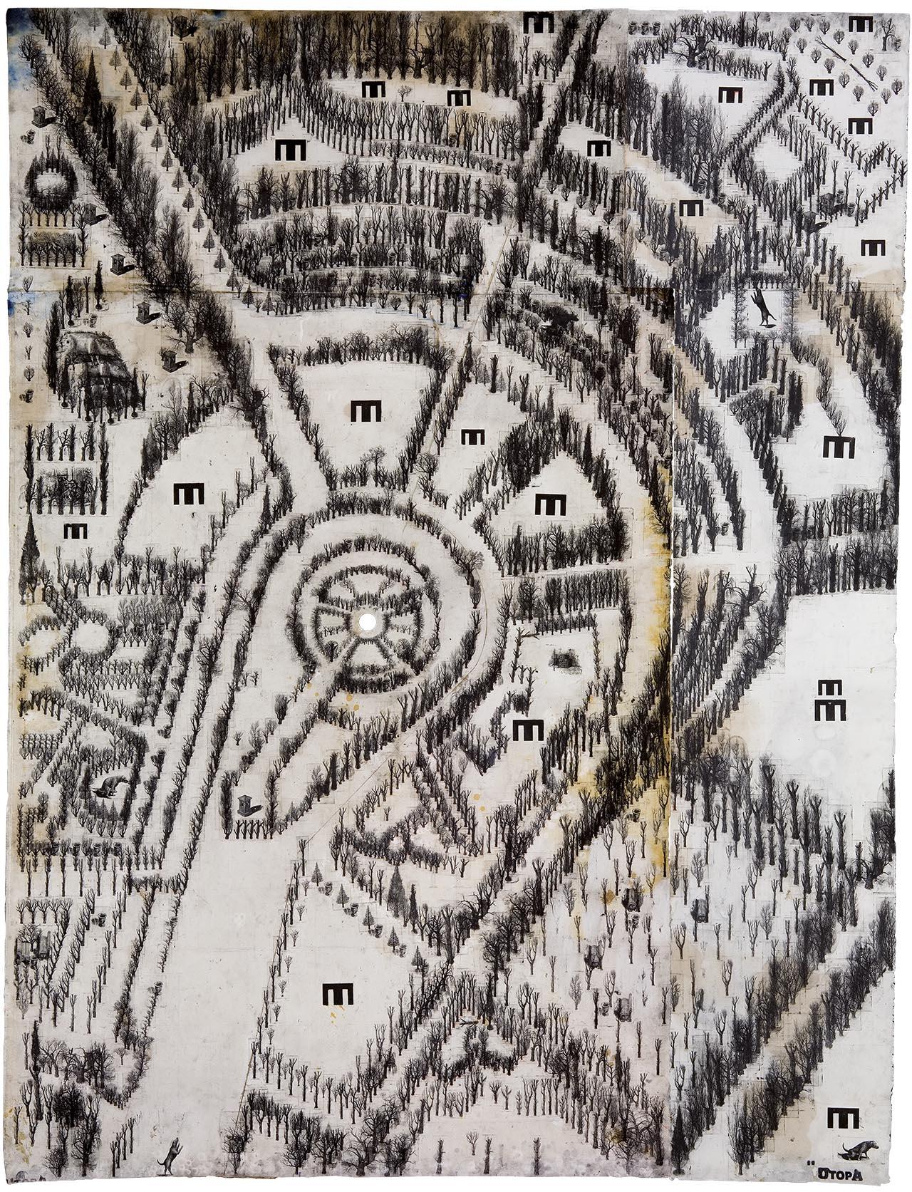 РАЗГОВОР С выдающимся украинским художником ПАВЛОМ МАКОВЫМ, автором инсталляции «Межа» на обложке третьего номера Huxleў (Часть II)