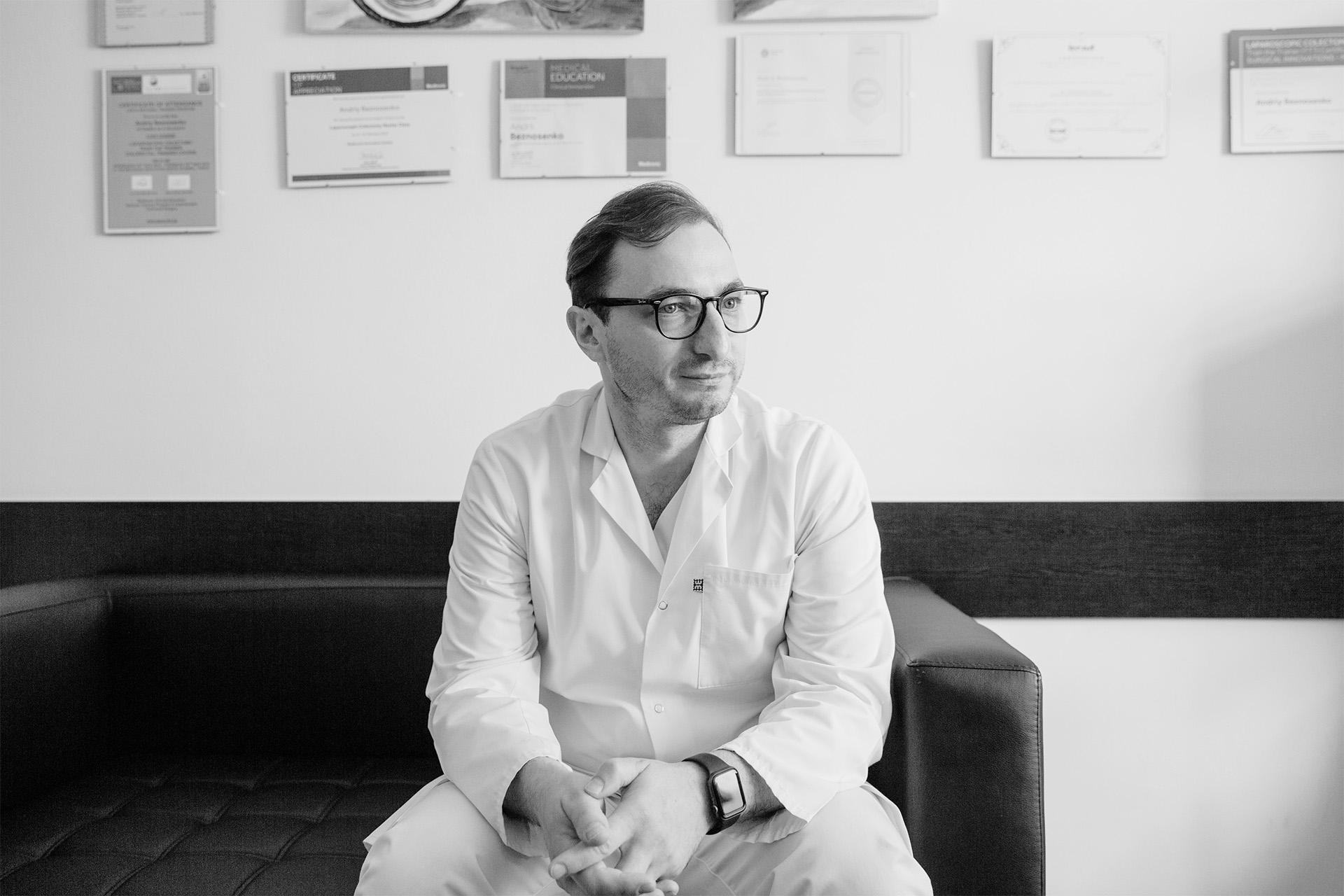 Андрей Безносенко, главный врач Национального института рака, – об онкомедицине, реформе, паллиативной помощи и пересадке органов