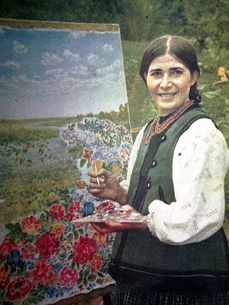 КОРНИ И КРЫЛЬЯ с Борисом Бурдой: выдающаяся украинская художница Катерина Билокур из Полтавской области