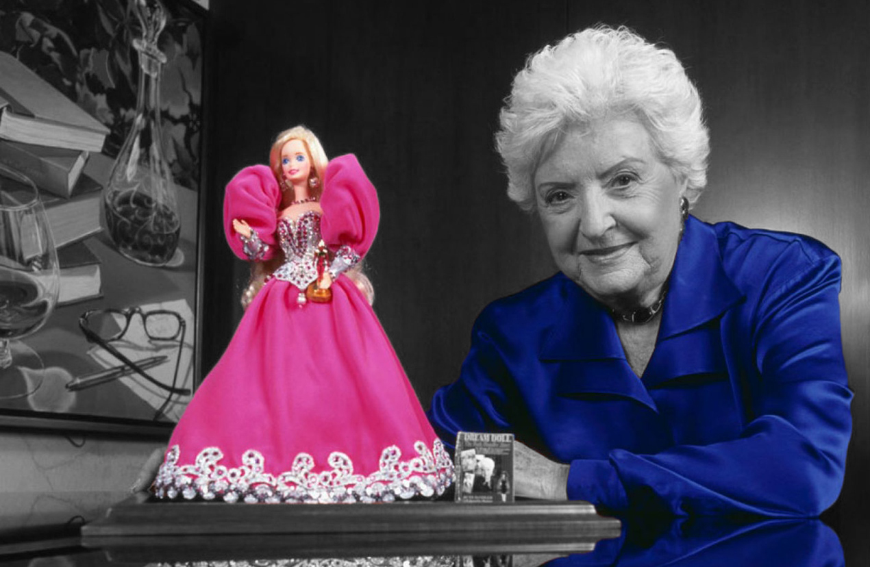 TO CHILDREN: the victories of the creator of the Barbie doll