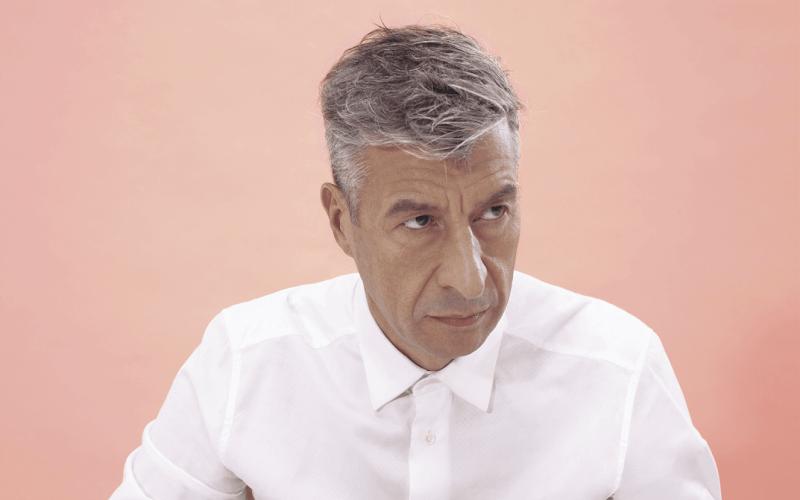 THE SAD CLOWN: Italian artist Maurizio Cattelan