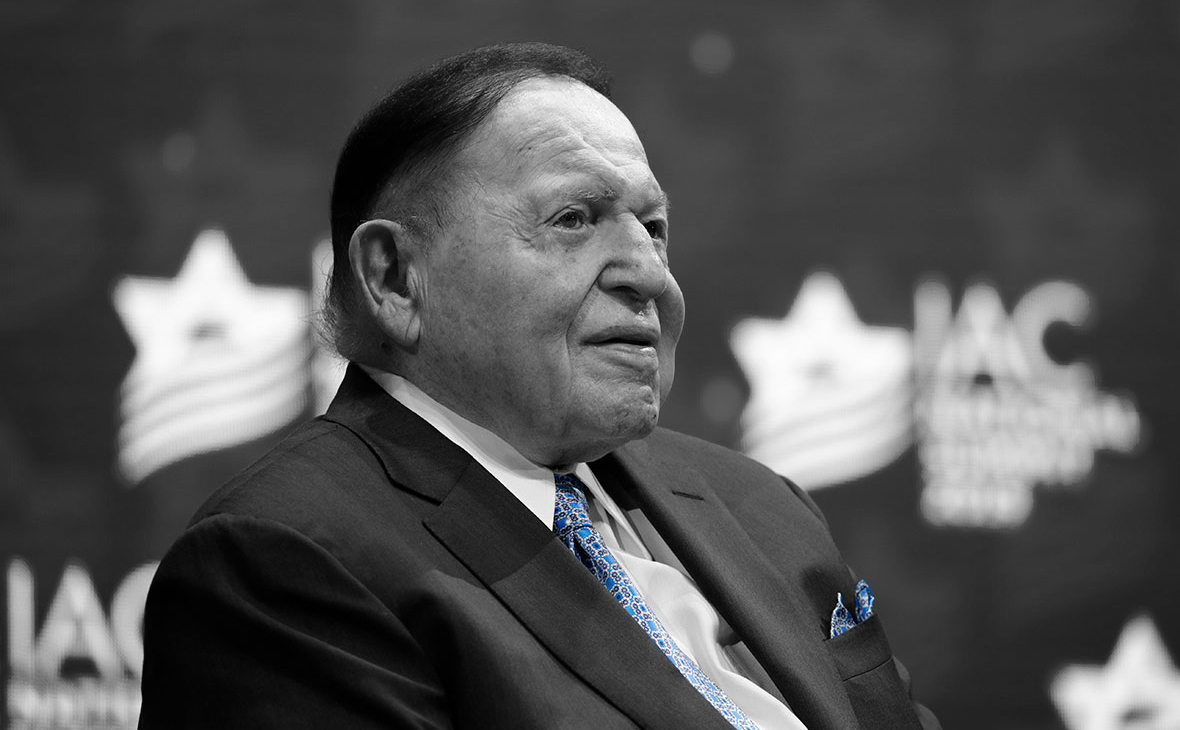 """GAMING KING SHELDON ADELSON: """"The real wealth has changed only one thing in my life: I got the opportunity to do charity work"""""""