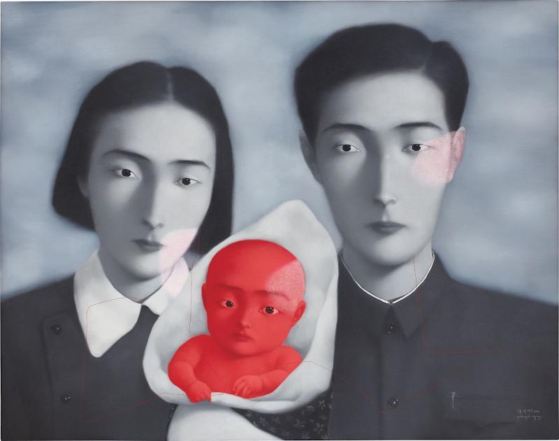 ДАЛЬНИЙ РОДСТВЕННИК: китайский художник Чжан Сяоган
