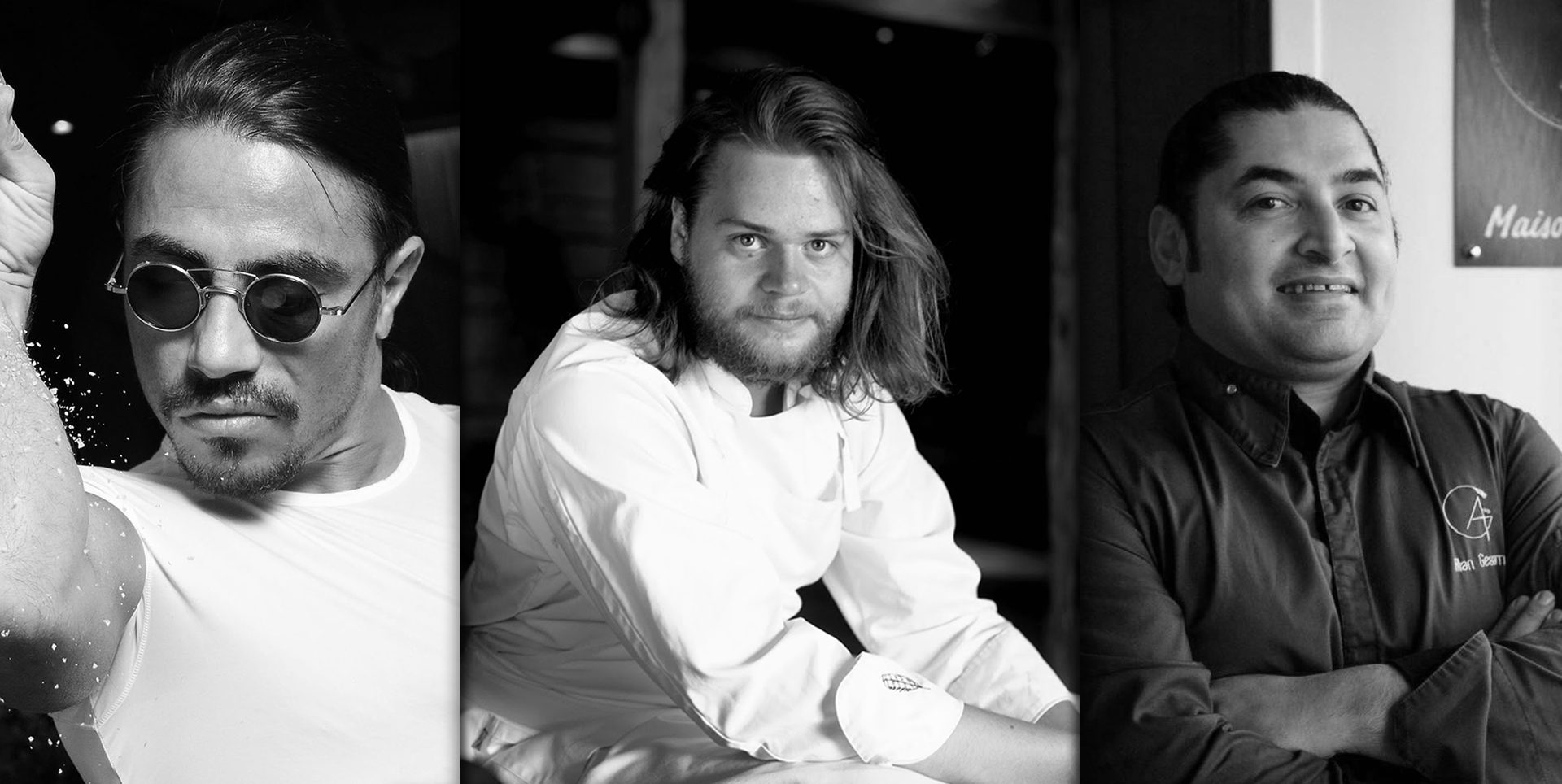 A HANDFUL OF RAISINS: the rules of success for the new stars of the world of gastronomy Nusret Gokce, Magnus Nilsson and Alan Geaam